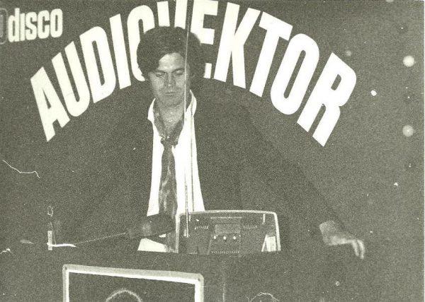 Futács Károly, a Gyöngyhalász Disco tulajdonosa, 1980-as évek eleje. fotó: Facebook