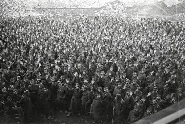Hadifoglyok. A kép illusztráció. Fortepan, Vörös Hadsereg