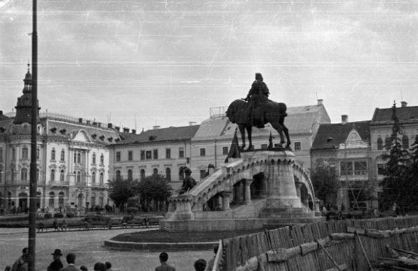 Kolozsvár, 1957. Fortepan, Szent-tamási Mihály