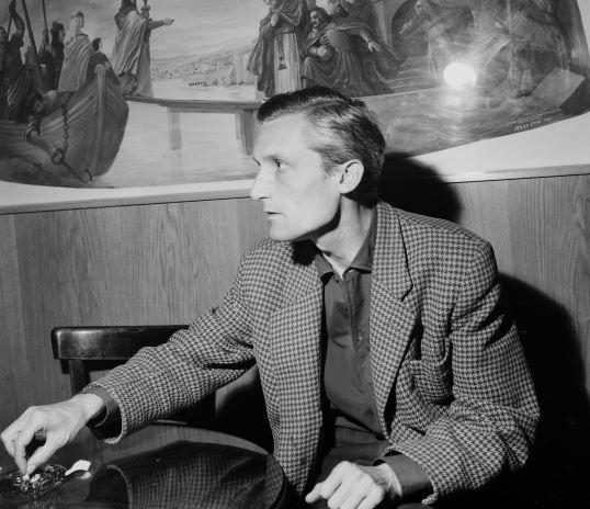Pilinszky János költő. forrás: Fortepan