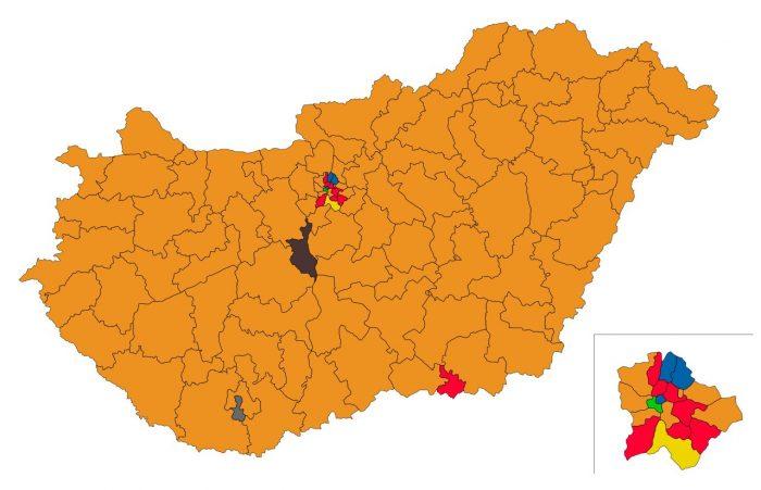 """1945-höz képest 2018-ban sem volt új a Nap alatt. Amíg a főváros """"színes"""", addig a magyar vidék elképesztő többséggel keresztény, nemzeti utat választotta. Továbbra is ők jelentik az életpárti magyar jövőt. Forrás: valasztas.hu"""