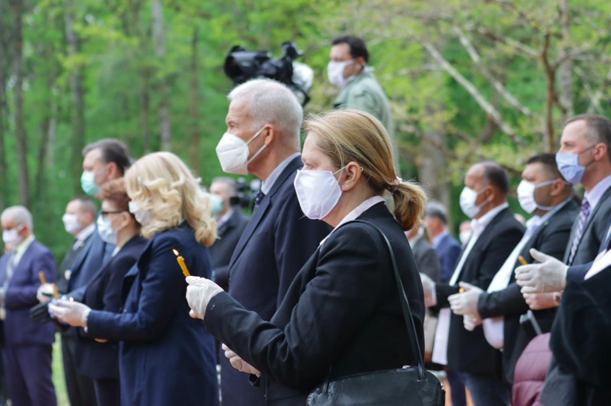 Berecz Marianne gyászol egy tavalyi felvételen / Forrás: Ohr.int