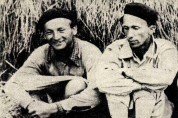 Az Orvos, azaz Janikovszky Béla és Egri János mérnök. Ellenállók voltak, ÁVH-sok lettek / Forrás: Igaz Szó, Arcanum.hu
