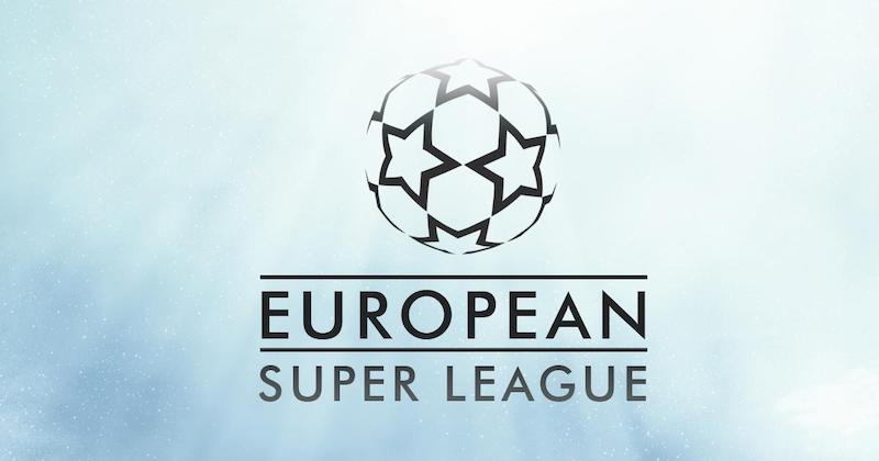 Az új futball liga képzeletbeli logója. Fotó: Facebook