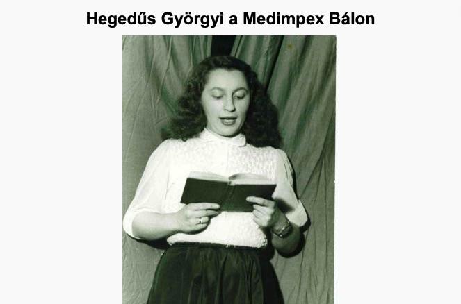 A Medimpex Bálon / Forrás: Visszaemlekezesek.hu