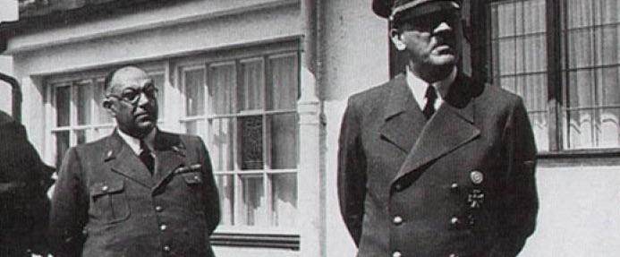 Kettecskén. Morell és Hitler / Forrás: Ww2gravestone.com