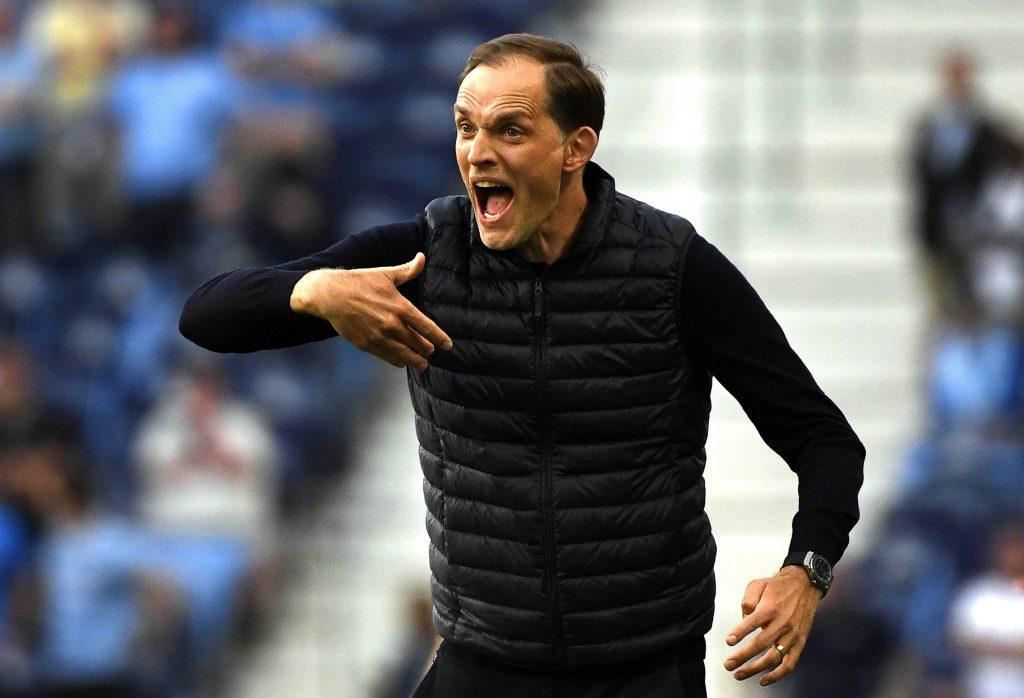 Thomas Tuchel, a Chelsea vezetőedzője tavaly elbukta a BL-döntőt a PSG trénereként, idén azonban felért csapatával a csúcsra!<br /> MTI/EPA/AFP pool