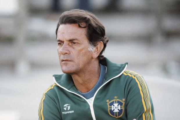 Telê Santana Brazília szövetségi kapitánya. Forrás: internet