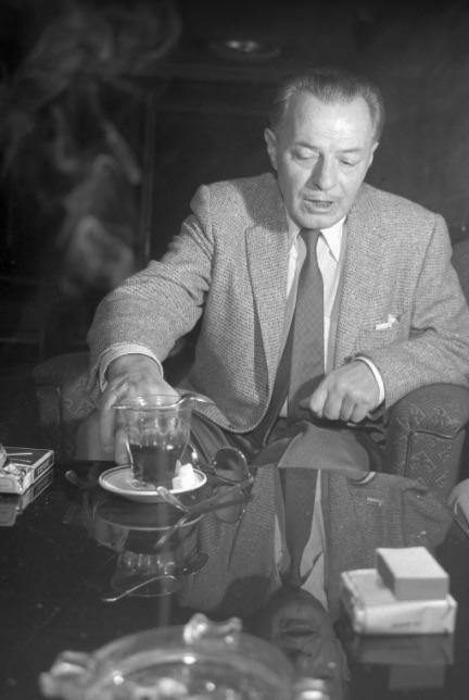 Jávor Pál 1957-ben / Fortepan, Kotynik Antal