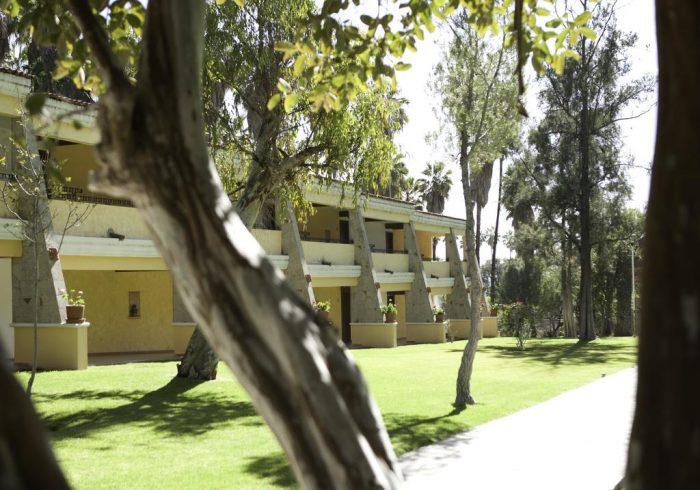 Csapatunk mexikói szálláshelye, a Comanjilla Gyógyszálló szépsége felülmúlhatatlan volt.