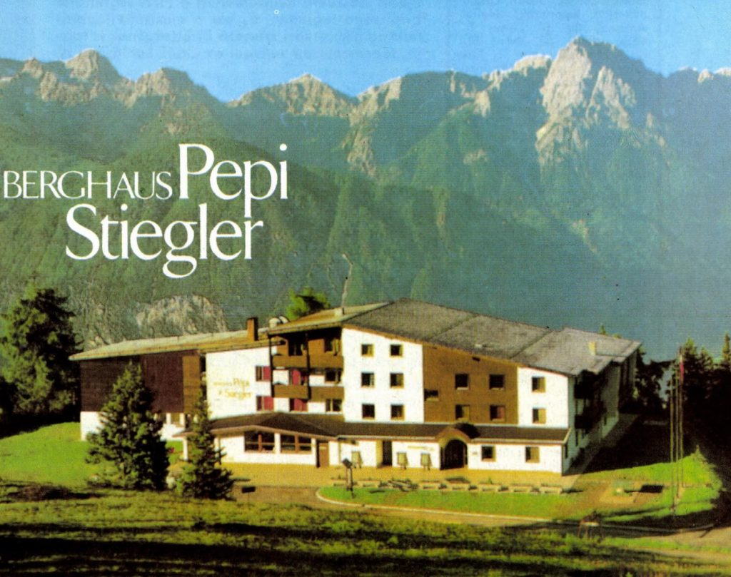 A Pepi Stiegler-ház Lienzben, az osztrák Alpokban, két hétig volt a világbajnokságra készülő csapatunk bázisa.