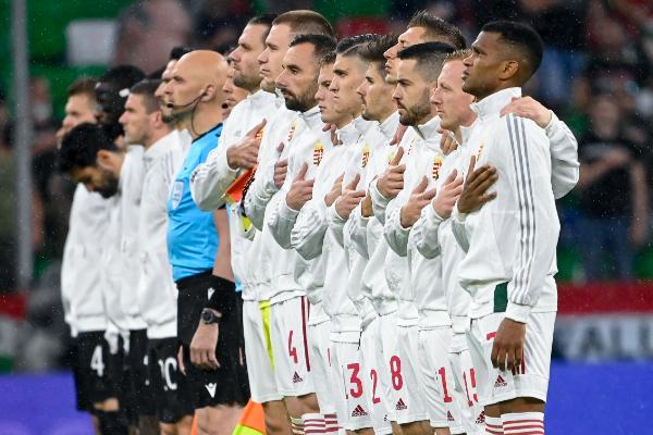 A magyar labdarúgó-válogatott minden dicséretet megérdemel az Eb-n mutatott szerepléséért! Fotó: MTI/Kovács Tamás