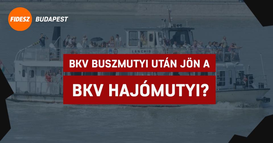 Újabb botrány várható – Karigeriék most éppen a BKV hajómutyiján dolgoznak ezerrel - PestiSrácok