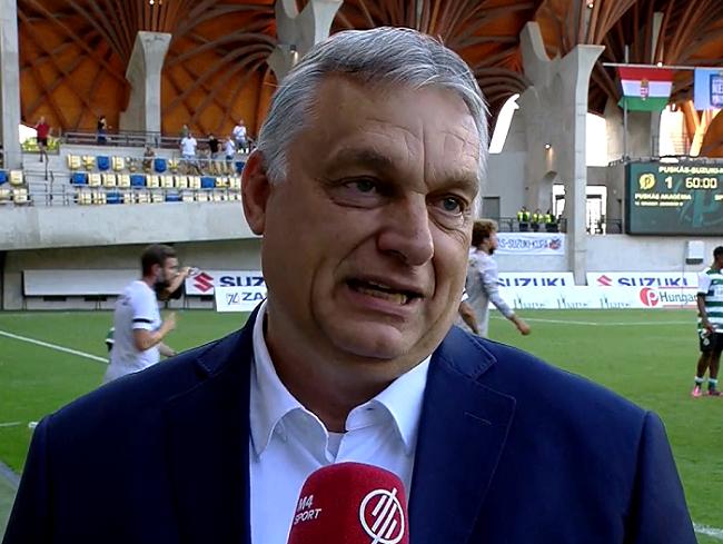 Orbán Viktor: jöhetnek Kleinheislerek és Sallaik a Puskás Akadémia kupagyőztes csapatából