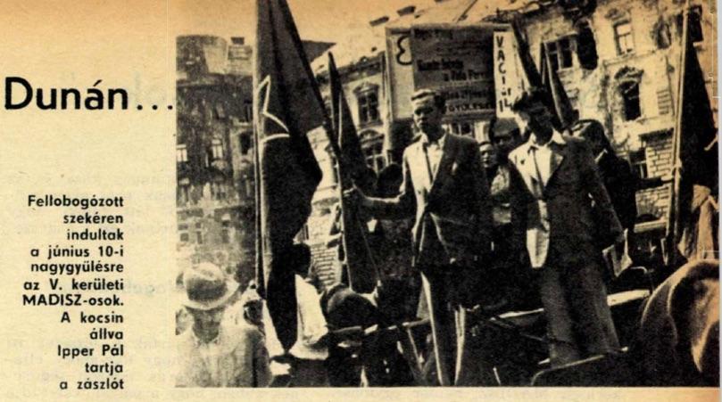 A fiatal Ipper az Ifjú Kommunistában / Forrás: Arcanum.hu
