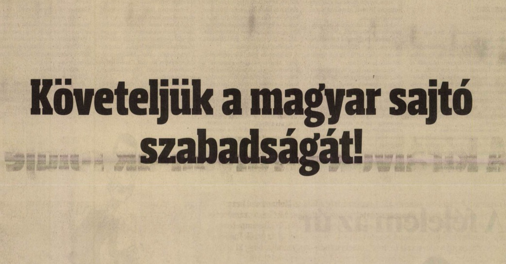Felszólítás a Magyar Hírlapban / Forrás: Arcanum