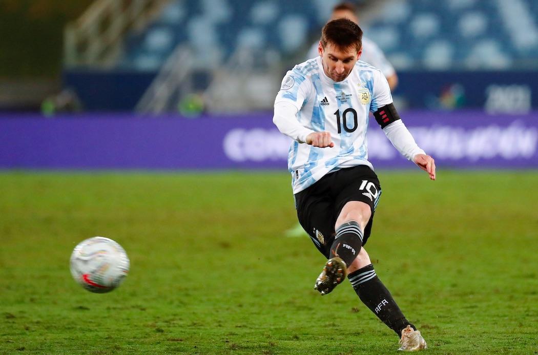 Messi az idei Copán / Fotó: MTI/EPA