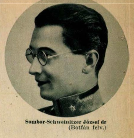 Sombor–Schweinitzer József / Fotó: Tolnai Világlapja, 1937