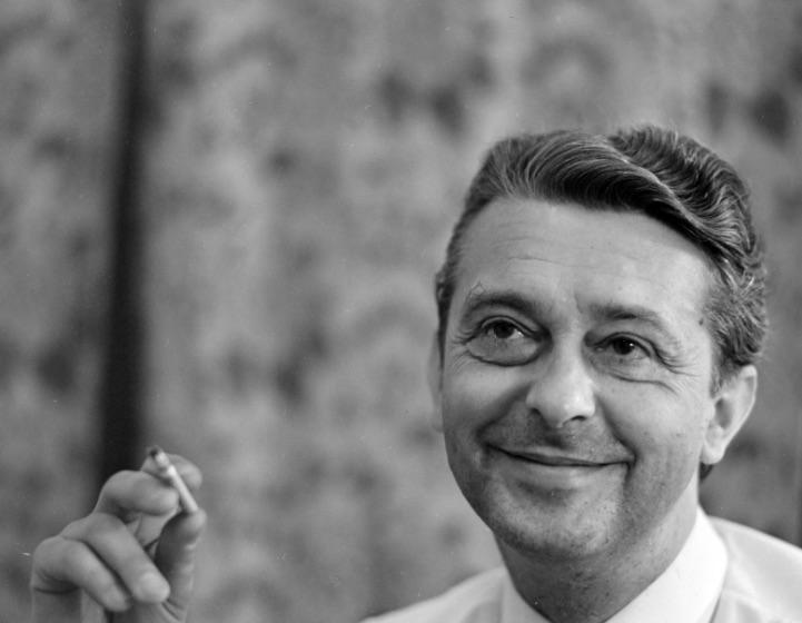 Mensáros László 1965-ben / Fotó: Fortepan.hu, ad. Szalay Zoltán