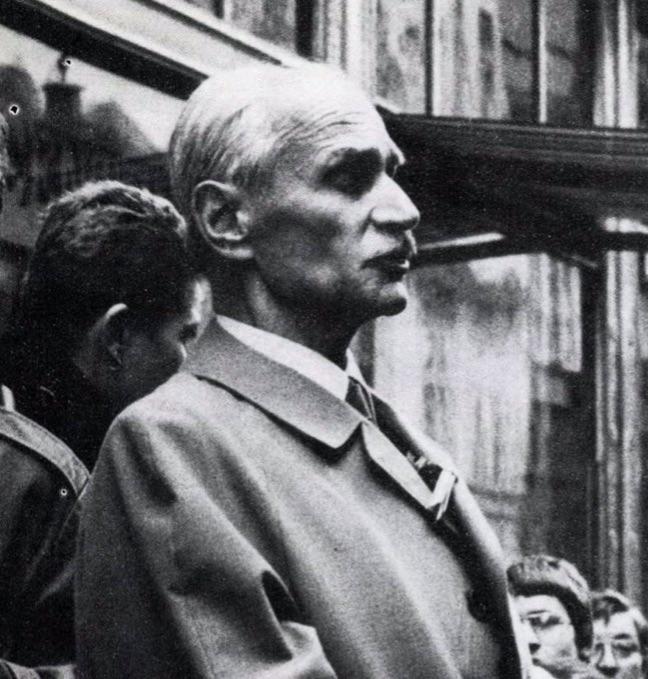 Pákh Tibor 1988-ban. Készítette: Rózsa Gábor / Forrás: Fotó, 1989