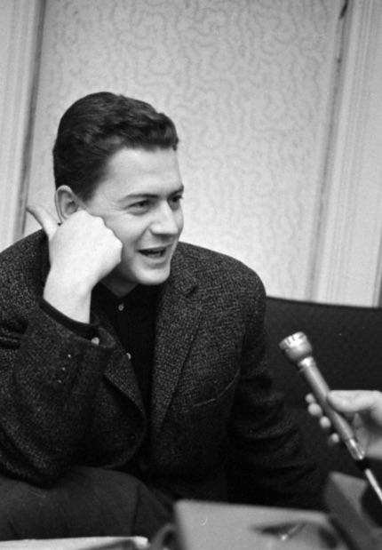 Szabó István 1963-ban / Fotó: Fortepan.hu, ad. Szalay Zoltán