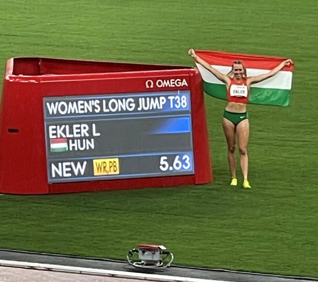 Ekler Luca világcsúccsal nyert paralimpiai bajnoki címet Tokióban! Fotó: Szabó László