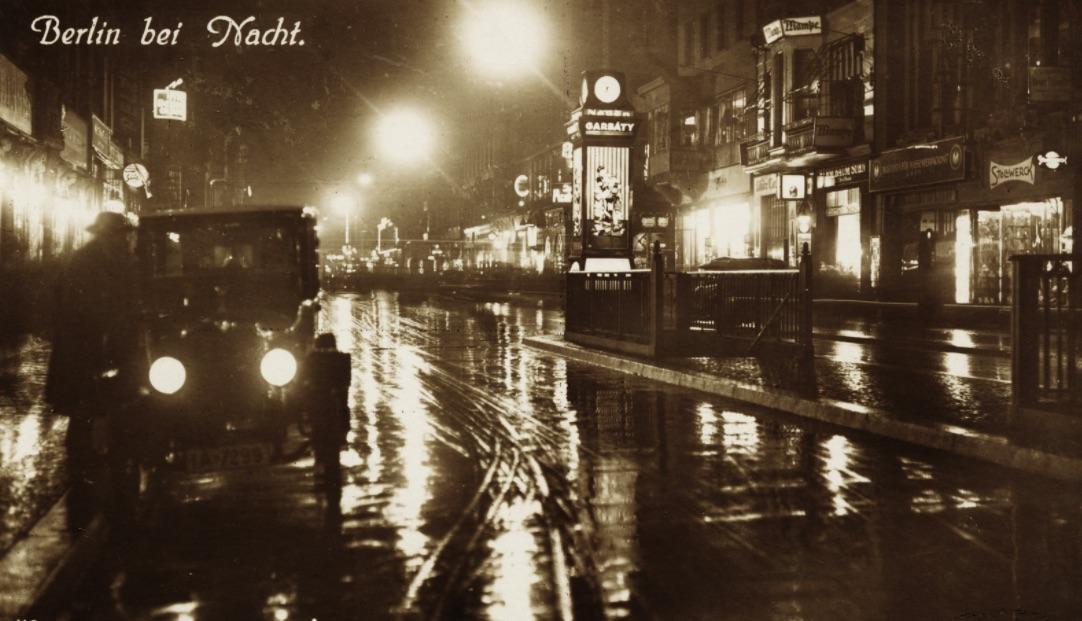 Berlin 1929-ben / Fotó: Fortepan.hu, ad.: Latin