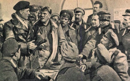 Jelenet a Patyomkin páncélos című propaganda-filmből